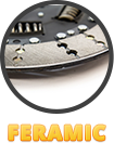feramic friction materials
