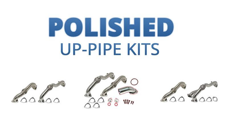 flo pro polished up-pipe kits